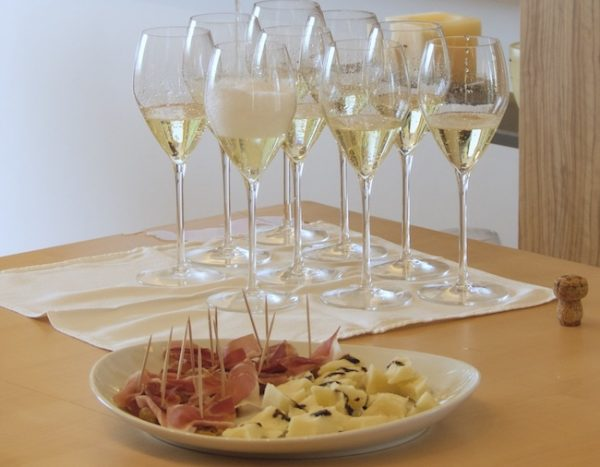 Prosecco and charcuterie ©PennySadler