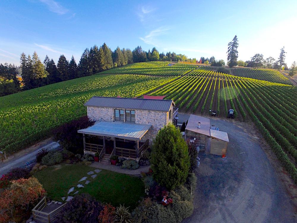 Lenne estate vinyards Willamette Valley