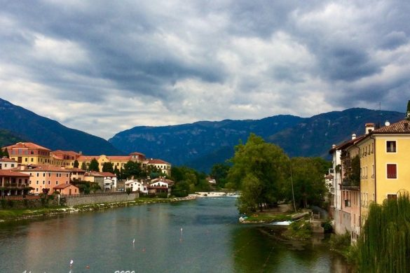 River Brenta and clouds from, Travel To Italy Drink More Prosecco