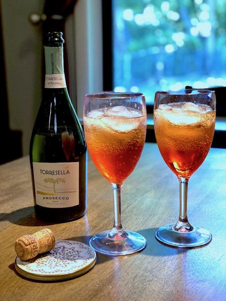 Aperol spritz and prosecco bottle from Travel to Italy, Drink more prosecco