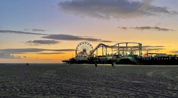 Santa Monica Pier ©PennySadler 2021
